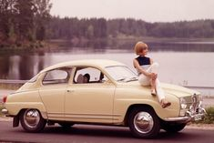 Saab 96 monte carlo- ad shot