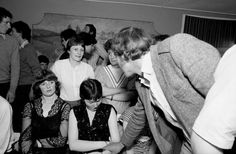 COUNTY MAYO, Ireland—Charlestown central ballroom, 1983. © Martin Parr / Magnum Photos