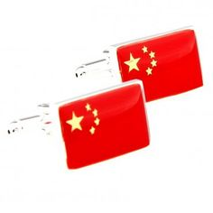 China's unbreakable spirit has created its own mark. With the help of the CN Stainless, any man can be a vision not only of boldness, but loyalty to his country as well. | How To Wear Cufflinks  #howmendress #menswear #mensfashion