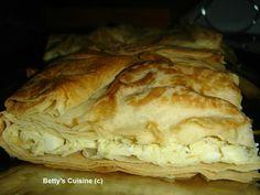 Betty's Cuisine: Τυρόπιτα με ανθότυρο και φέτα