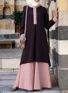 Hijab Fashion 2016/2017: The fabric is awesome on this Bamboo Blend version of…