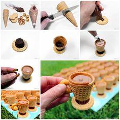 DIY Cute No Bake Edible Teacups Dessert