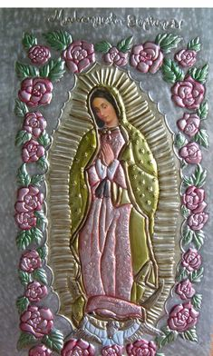 LA VIRGEN DE GUADALUPE~tin art