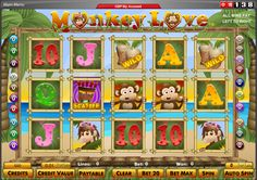 Monkey Love - The goal is to achieve a winning combination of objects along any of 20 paylines. https://www.megajackpot.com/?ref=pinterest