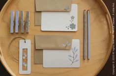 How-To: Security Envelope Stationery Set