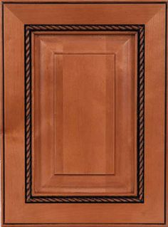 Future DIY Project - Add 2 Tone Rope Molding To Kitchen Cabinet Doors