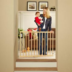 North States Tall Stairway Swing Gate, Natural >>> Hurry! Check out this great product (This is an amazon affiliate link. I may earn commission from it)