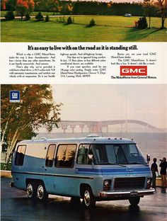 1974 GMC MotorHome- this takes me back to vacations as a kid! I don't know how 7 of us and a large collie ever managed to sleep in this, but we did!!!