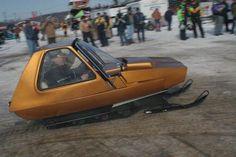 1970 Sno Coupe Ranger snowmobile