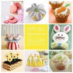 spring dessert images | spring easter desserts small Spring Party!