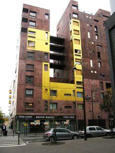 PARIS-MASSENA Dwellings: Beckmann N'Thepe by hororo, via Flickr