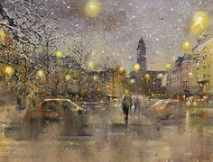 Mika Törönen Painting, Cityscapes, Helsinki, Art, Art Background, Painting Art, Kunst, Paintings, Performing Arts