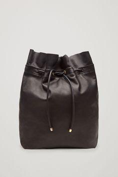 COS | Raw-cut drawstring backpack