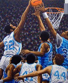 North Carolina Tarheels: National Champions by Rick Rush