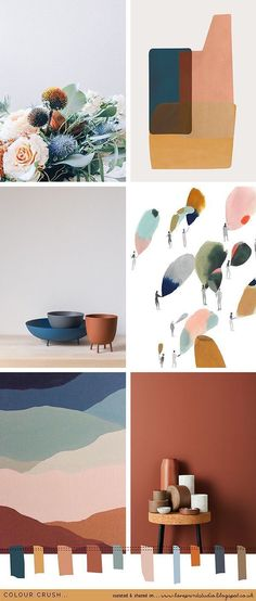 Hippy Room 649925789964424132 - html color palette – html ; html cheat sheet ; html color codes ; html css ; html code web design ; html color palette ; html for beginners Source by elisalesbonstuyaux Colour Board, Color Stories, Colour Story, Color Pallets, Color Theory, Colorful Interiors, Color Inspiration, Moodboard Inspiration, Kitchen Inspiration