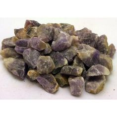 Chevron Amethyst Rough for Tumbling « Rough Rock, Minerals and Crystals Shop