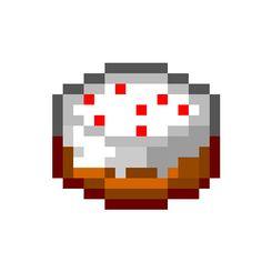 pixel art Minecraft Cake Cake Food Minecraft by brokenscouter piq Minecraft Heads, Minecraft Pattern, Hama Beads Minecraft, Minecraft Tutorial, Minecraft Pixel Art, Minecraft Cake, Minecraft Crafts, Minecraft Room Decor, Painting Minecraft