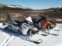New pro Rmk's! #snowmobiling