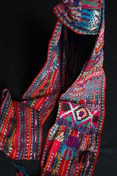 Auth. MAYAN Textile: Large 70 Sash/Faja Jaspe by PermtranGiftshop