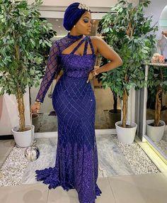 Wedding Guests Steal-worthy Looks - Wedding Digest Naija Aso Ebi Lace Styles, Lace Dress Styles, African Lace Dresses, Latest African Fashion Dresses, African Print Fashion, Ankara Styles, African Lace Styles, Nigerian Dress, Mode Top