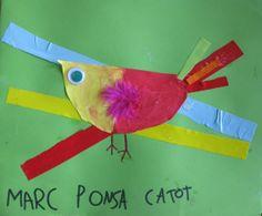 Tapa feta pels alumnes d'Infantil de l'Escola l'Esqueix. Curs 13-14