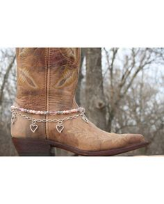LOVE this one. If I had boots, I would put these on them. Boot Candy Pink Crystals, Pearls, and Hearts. $19.95