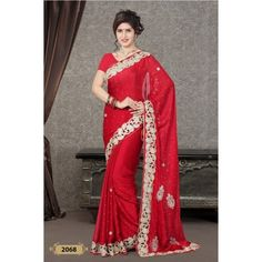 Handwork Designer Saree ( D.No.2068 )