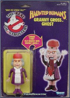 Kenner The Real Ghostbusters Series 3: Haunted Humans - Granny Gross Ghost 1986