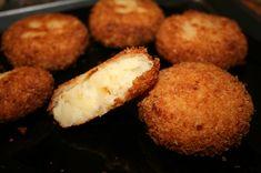 Potato croquette...with butter, onions...perhaps I will also add garlic...