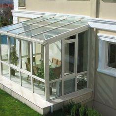 Window Grill Design, Balcony Design, Pergola Patio, Backyard, Dream Home Design, House Design, Glass Green House, Small Sunroom, Building Layout