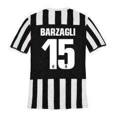 b581b07fba7 2013-2014 Juventus Nike Home Football Shirt 15 Barzagli http   www.