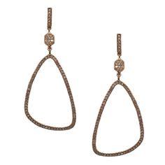 Danielle Earrings Rose Gold