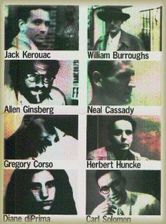 Writers of the Beat Generation. These authors rejected conformist society and sought to make their own way.