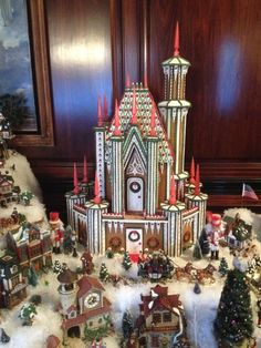Gingerbread splendor: Local couple constructs candied castle - The Herald Journal: Allaccess