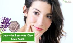 This wonderful face mask with lavender oil makes the perfect addition to your skincare routine. Learn how to make lavender bentonite clay mask. Bentonite Clay Face Mask, Calcium Bentonite Clay, Lavender Oil For Face, Clay Masks, Herbs, Skin Care, Beauty, Skincare Routine, Herb