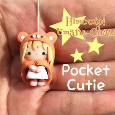 Hi everyone! Here it is Umaru-Chan as a Pocket Cutie, requested by my sweet friends @kingdomkawaii and @banannalincrafts I will also have my Etsy shop update today at 6 pm Central Time, and I will also post a pic with everything I will have available! ❤️ #umaruchan #pocketcutie #pinksugarcotton #clay #cuteclay #claychibi #umaruchanchibi #umaruchankawaii #kawaii #polymerclay