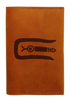 Vietsbay Unisex Mexican Culture Icons Handmade Genuine Leather Passport Holder