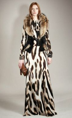 Roberto cavalli pre-fall 2011 fashion show animal print outfits, animal print fashion, Animal Print Outfits, Animal Print Fashion, Fashion Prints, Love Fashion, High Fashion, Fashion Show, Moda Animal Print, Animal Prints, Leopard Fashion