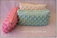 Marvelous Crochet A Shell Stitch Purse Bag Ideas. Wonderful Crochet A Shell Stitch Purse Bag Ideas. Crochet Wallet, Crochet Coin Purse, Crochet Purse Patterns, Crochet Pouch, Crochet Purses, Crochet Hooks, Love Crochet, Easy Crochet, Knit Crochet