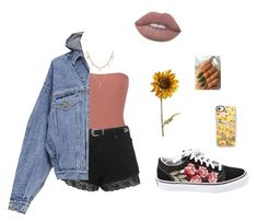 """""""Untitled #204"""" by http-brxana ❤ liked on Polyvore featuring Vans, Alix, Miss Selfridge, Fear of God, Pier 1 Imports and Casetify"""