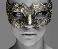 fabulous silver face mask. Who made this? who wears it, and why?