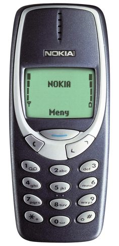 I guess this isn't my first smartphone, but my first cell phone. I loved playing snake on this thing. --Alyson Welker