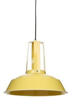 Nice Lightmakers Deckenlampe gelb ca uac Manko sichtbare Schrauben am Schirm
