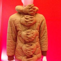 Hug Me, by Si Chan An exhibit at The Future of Fashion is Now, Boijmans Museum, Rotterdam
