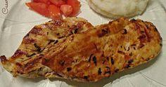 Supremas (pechugas) de pollo especiadas al limón (light)