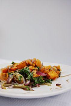 Ralu TeRa: Sweet potatoes and kale