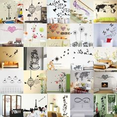 Removable Wall Art Sticker Vinyl Decal DIY Room House TV Background Mural Decor #Unbrand