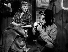 Barbara Stanwick et Joel McCrea dans Pacific Express (Union Pacific, Cecil B. DeMille, 1939)