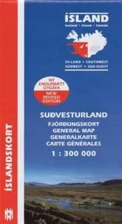 General Maps - South West Iceland - 1:300.000