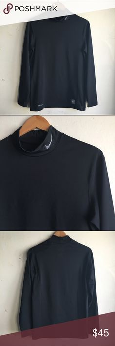 CLOSET CLEAR-OUT Nike Pro Compression Tee Nike Pro Combat dri-fit compression tee. Black and long sleeves. For men. Perfect condition! #K030 Nike Tops Tees - Long Sleeve